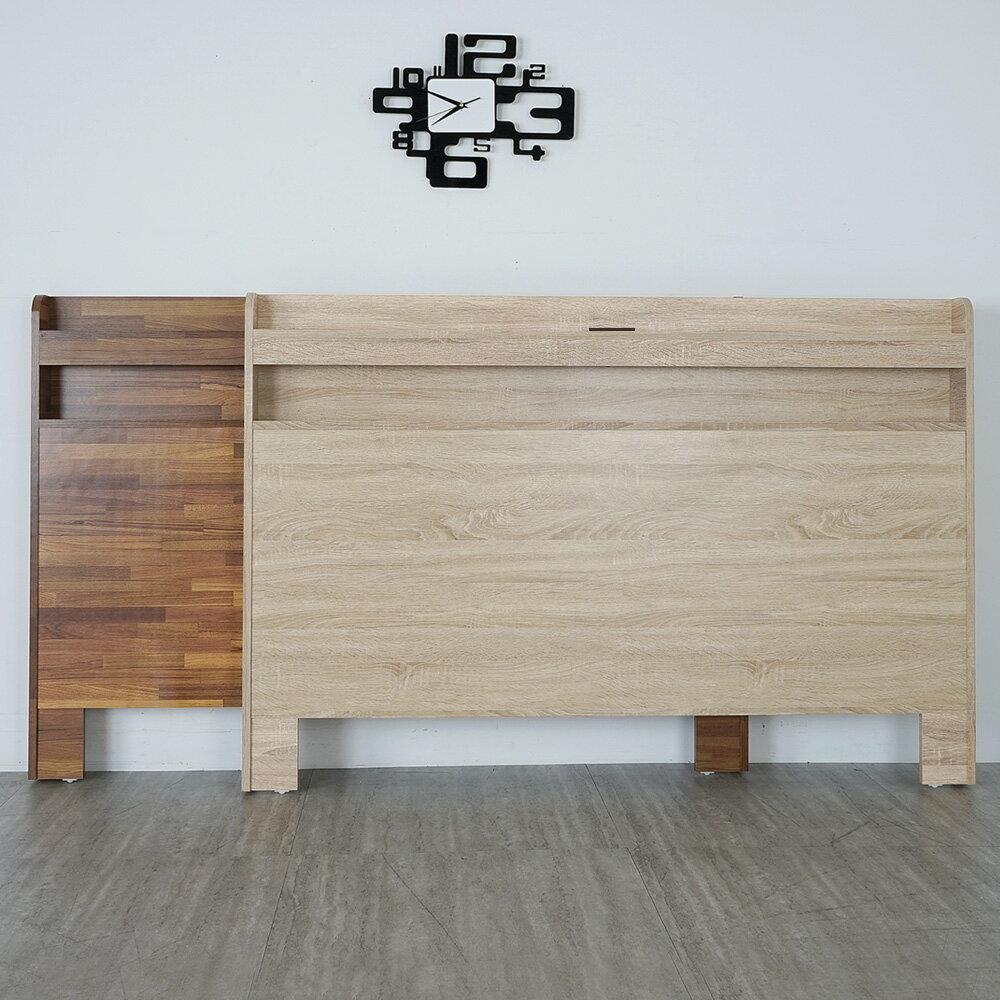 宮野附插座床頭片-雙人加大6尺(二色)❘床頭片/插座床頭/6尺床頭【YoStyle】