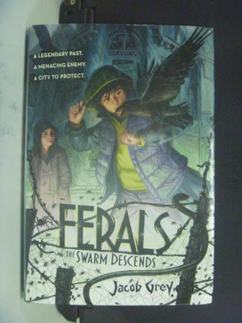 【書寶二手書T4/原文小說_GEI】Ferals 2: The Swarm Descends_Jacob Grey