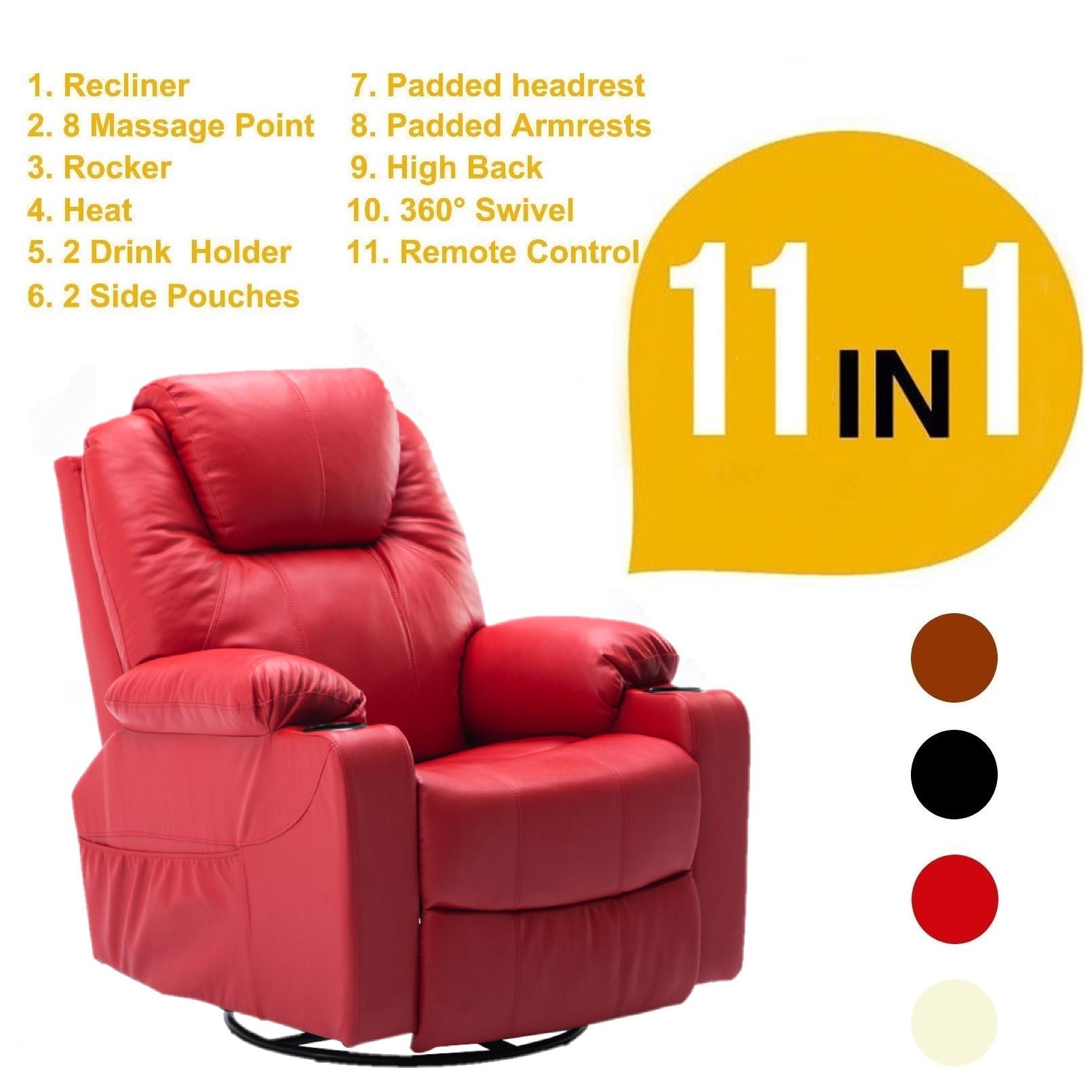 Heated Sofa Kinbor Electric Mage Recliner Sofa Chair