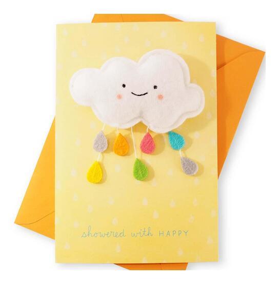 剪刀石頭紙 【Signature 系列 寶貝賀喜】白雲下起彩虹雨滴