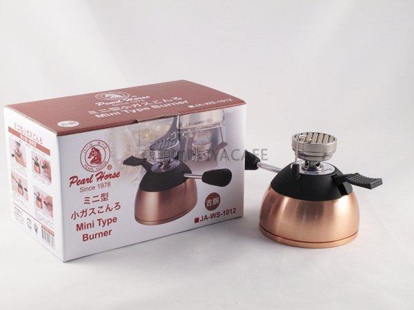 《愛鴨咖啡》PEARL HORSE 古銅色 陶瓷登山爐 瓦斯爐JA-WS-1012