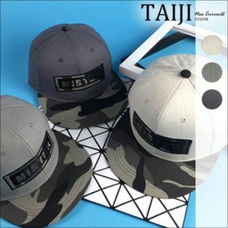 NXHB52棒球帽‧歐美街頭風格MISTER印花帽沿迷彩嘻哈棒球帽‧三色【NXHB52】-TAIJI