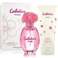 母親節禮物推薦飾品:護手霜、香水、臉部及身體保養到香水1986☆Gres Cabotine Rose 紅粉佳人 禮盒 --100ml香水+200ml身體乳--