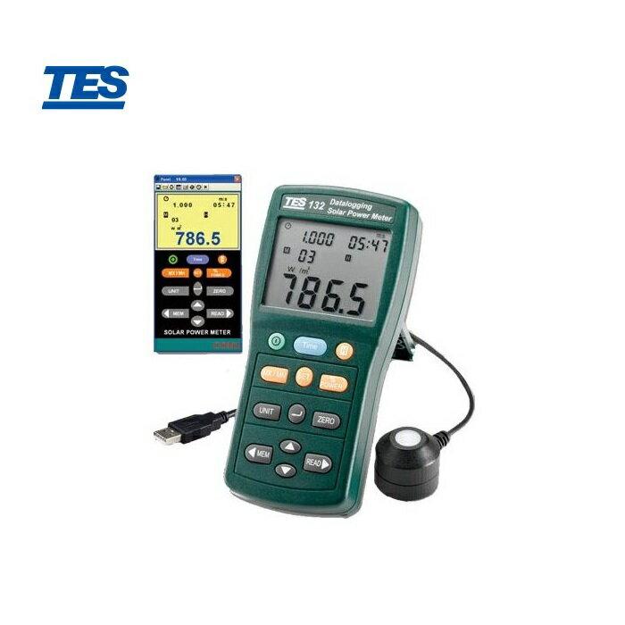 泰仕 TES-132 記錄型太陽能錶