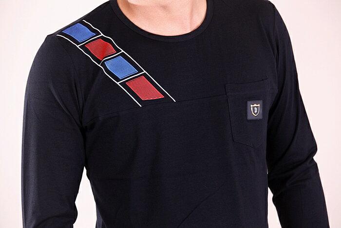 CS衣舖 彈力伸縮 高質感 長袖T恤 3333 2