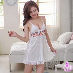 【妮薇NIVIE情趣用品】祕密花園!純情柔緞睡衣ENA13020048