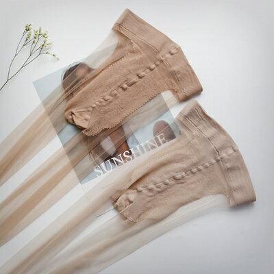 絲襪 夏季絲襪款肉色超薄隱形陽光膚超透隱形腳尖全透明0D絲襪『LM3171』