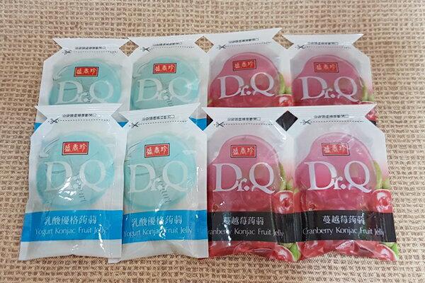 (台灣)盛香珍Dr.Q蒟蒻果凍-蔓越莓+乳酸口味1包600公克(約25個)特價99元(最流行的擠壓式袋型果凍盛香珍Dr.Q擠壓式果凍)