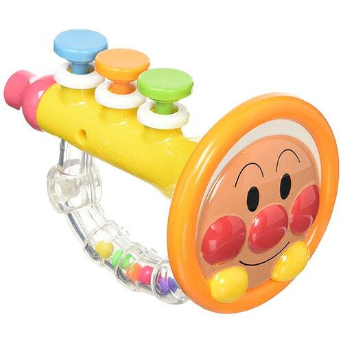《 麵包超人 》ANP 兒童喇叭造型手搖鈴