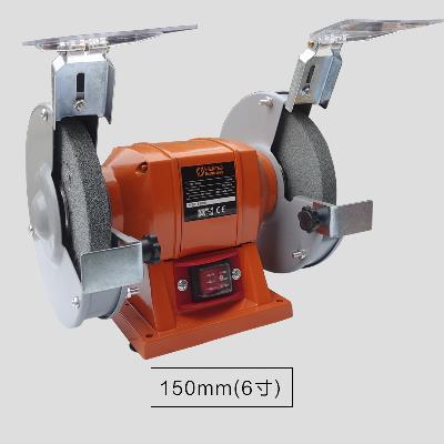 小型沙輪機家用臺式220v電動拋光機磨刀機砂輪臺式磨機輪機刀1入