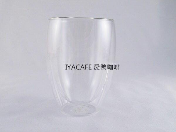 《愛鴨咖啡》雙層耐熱玻璃杯 310cc
