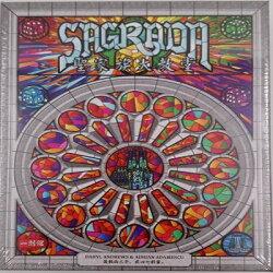 含稅附發票  聖家族大教堂 Sagrada 聖家堂 繁體中文版  骰子遊戲 方舟風雲會益智桌遊  實體店正版