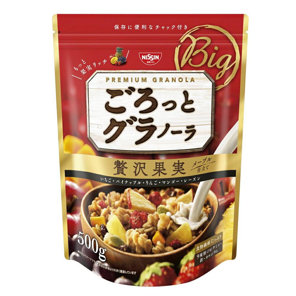 Nissin日清綜合麥片-贅澤水果果實-大包裝 500g 早餐穀物麥片