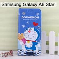 小叮噹週邊商品推薦哆啦A夢皮套 [麵包] Samsung Galaxy A8 Star (6.3吋) 小叮噹【正版授權】