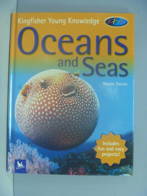 【書寶二手書T3/少年童書_ZAX】Oceans and Seas_Nicola Davies