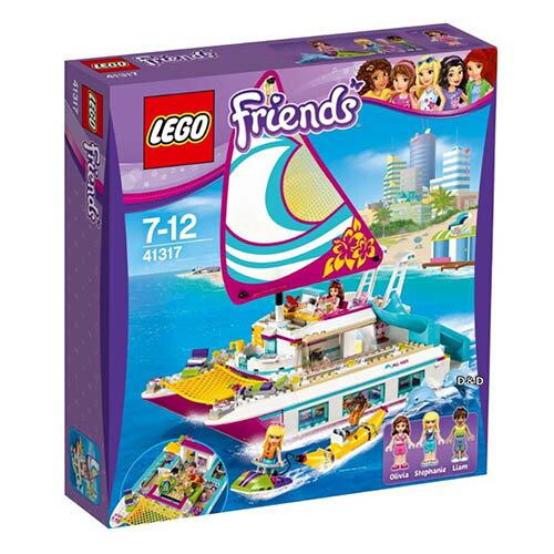樂高積木 LEGO《 LT41317 》2017年Friends 姊妹淘系列 - 陽光遊艇 - 限時優惠好康折扣