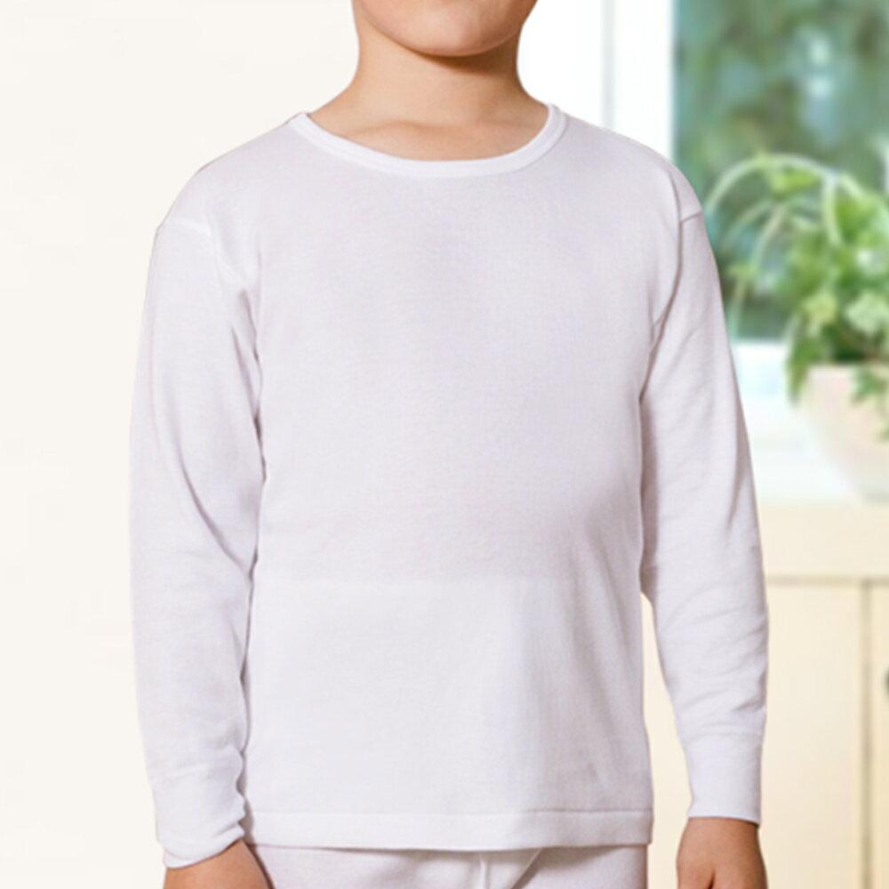 【Gunze郡是】原裝進口-兒童100%純棉男童長袖(100cm~160cm) 2