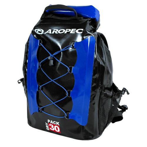 【【蘋果戶外】】AROPEC DBG-WG098-30L 藍 30公升 亞洛沛 防水後背包 防水袋 乾式袋 防水背包