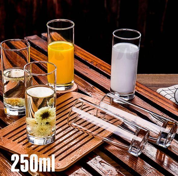 【九元生活百貨】美食杯/250ml 玻璃杯 玻璃水杯 酒杯