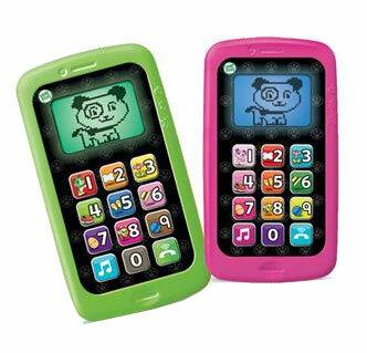 安琪兒婦嬰百貨 美國【LeapFrog跳跳蛙】數數聰明小手機(粉/ 綠)