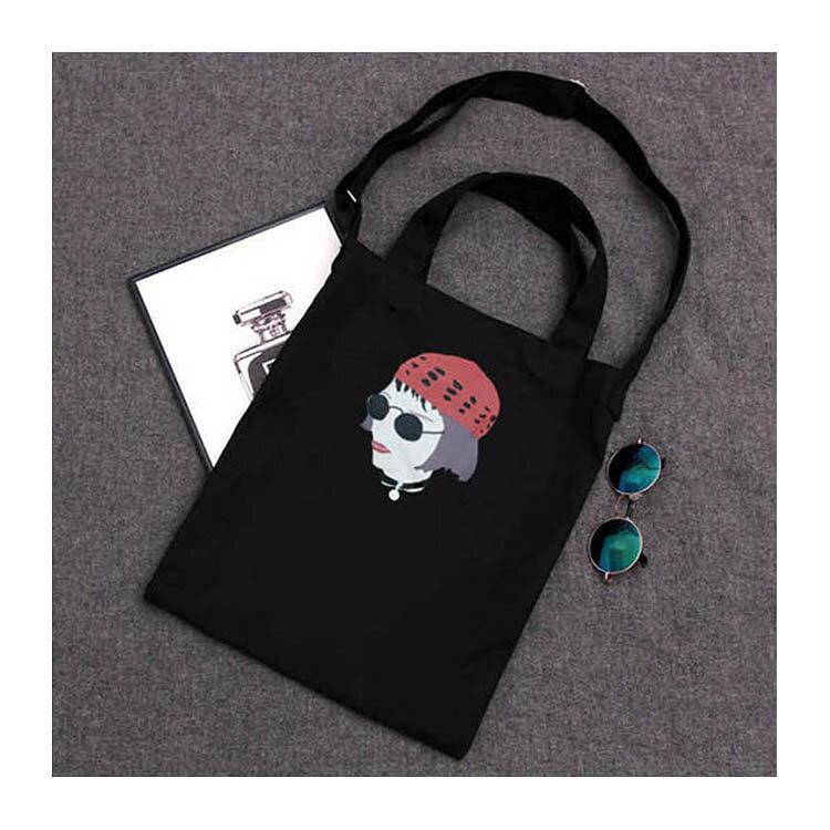 手提包 帆布袋 手提袋 環保購物袋【DEA0042】 BOBI  08/18 2