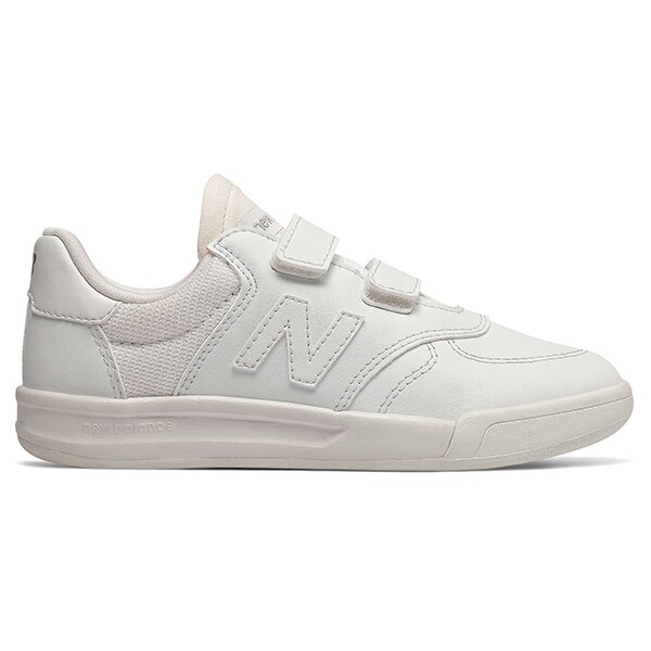 【PV300TWH】NEW BALANCE NB300 休閒鞋 板鞋 黏帶 皮革 全白