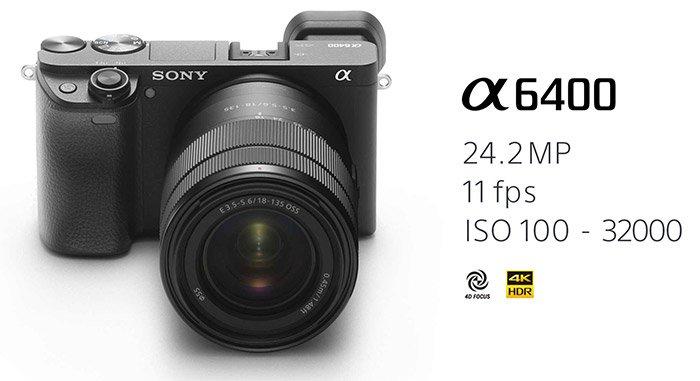 預購 SONY A6400M α6400m 18-135mm變焦鏡組 公司貨 再送64G卡+專用電池+專用座充+相機包+吹球清潔組+專業拭鏡筆+螢幕保護貼