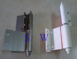 HI026 紗門專用後鈕 一組(兩片)鋁門後鈕 插心後鈕 旗型鉸鏈 鋁門活頁 鉸鏈鋁 推拉門鉸鏈 適用紗門、輕鋁門窗
