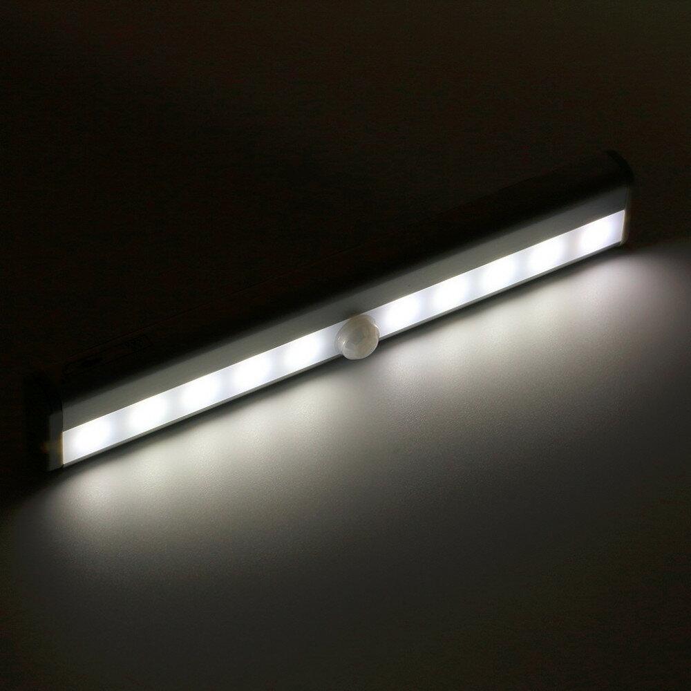 智慧型 便攜式紅外線自動感應衣櫃夜燈 樓梯間感應燈 走道感應燈