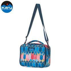 【KAVU 美國】Lunch Box 便當保溫袋 野餐保溫袋 保冷袋 保鮮袋 玻璃花窗 (9017-797)