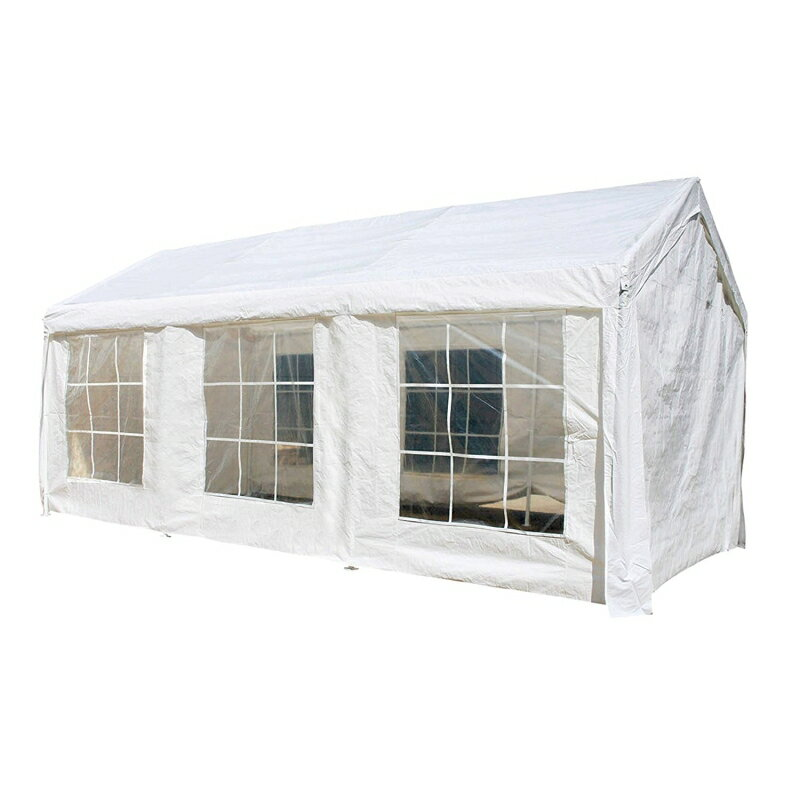 ALEKO CP1020WH Heavy Duty Outdoor Gazebo Canopy Tent with Sidewalls White color 0  sc 1 st  Rakuten & Aleko Products: ALEKO CP1020WH Heavy Duty Outdoor Gazebo Canopy Tent ...