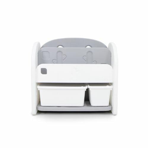 韓國 Ifam 白色書架收納組(白色收納盒x2)IF-064-1W★愛兒麗婦幼用品★