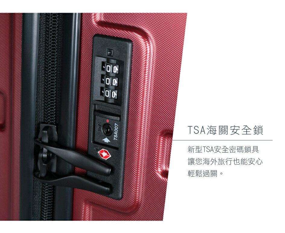 【CROWN皇冠】21吋 輕量防盜拉鍊 行李箱 / 旅行箱 / 登機箱 (C-F1783-獨家鏡面藍)【威奇包仔通】 2
