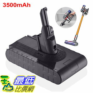 [106美國直購] 戴森 V8副廠電池 21.6V 3500mAh Li-ion Battery For Dyson V8 Absolute Vacuum Cleaner Oc1