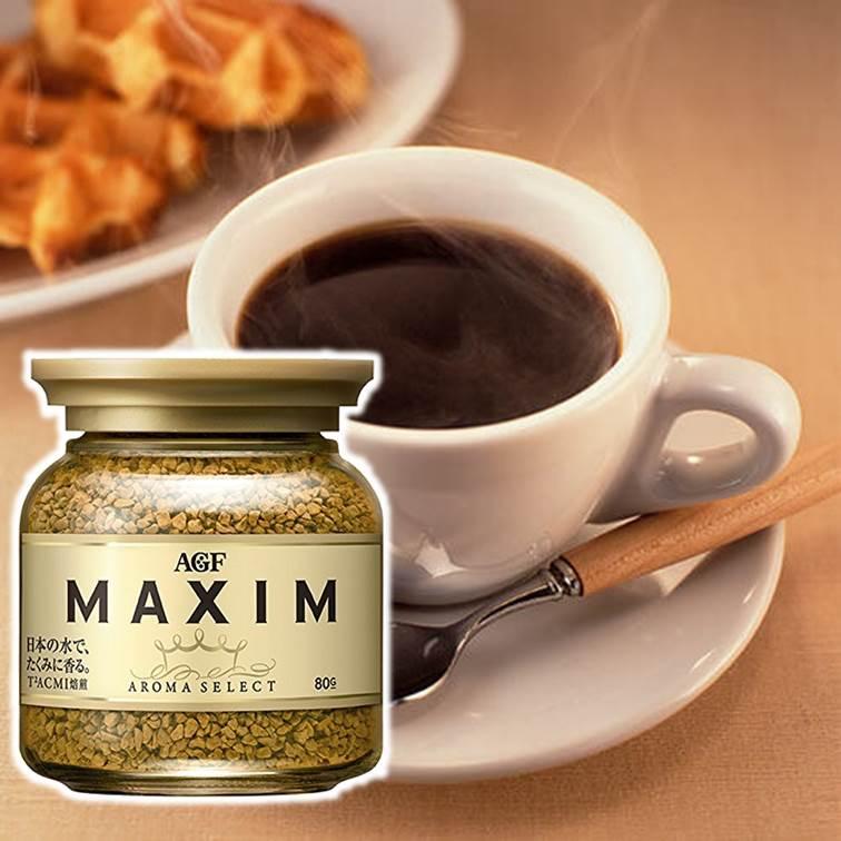 【SUPERSALE】AGF Maxim箴言金咖啡 即溶咖啡粉 80g AGF ???? 日本進口
