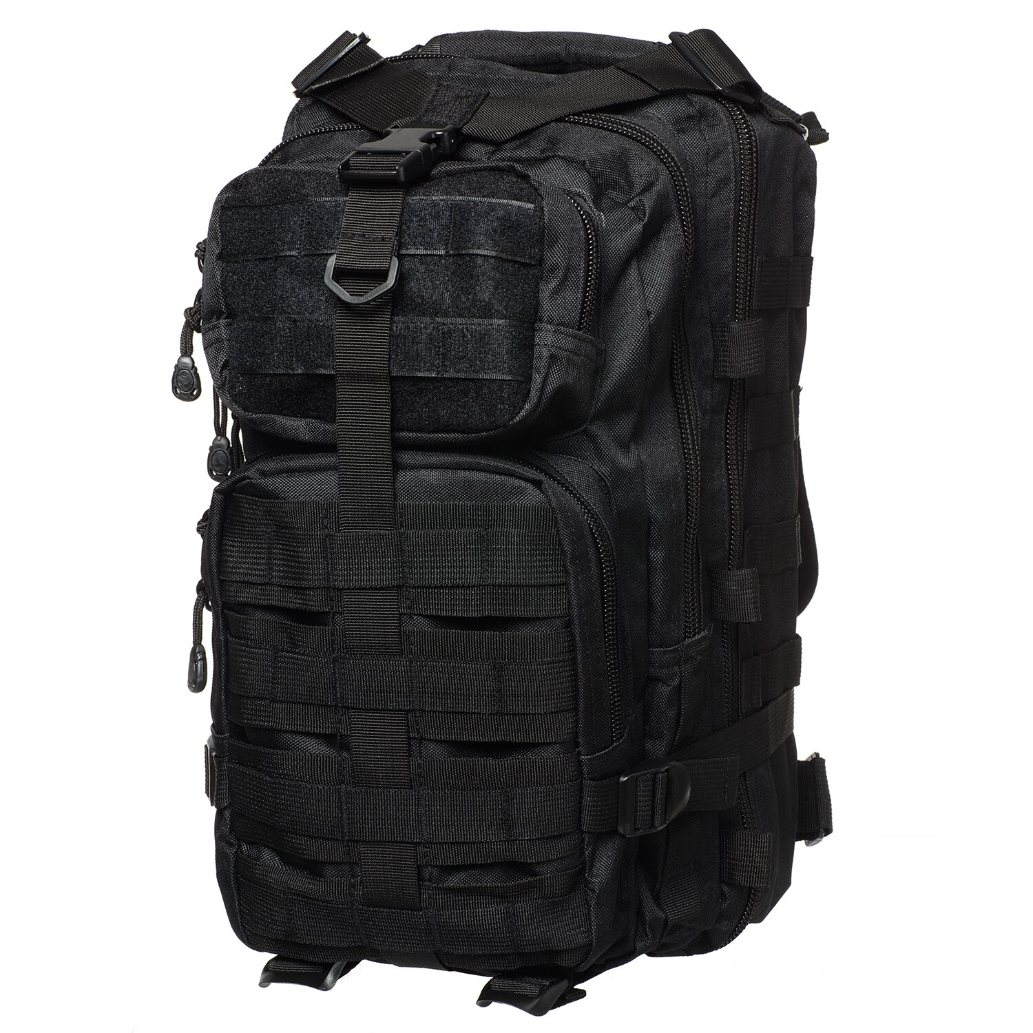 Every Day Carry Military Tactical Large Army 3-Day Assault MOLLE Outdoor Backpack for Hiking - Black 0
