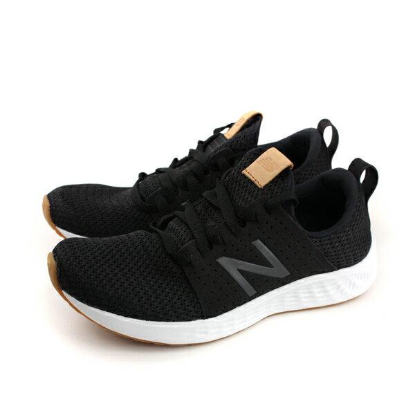 NEWBALANCE跑鞋運動鞋針織黑色女鞋窄楦WSPTLB1-Bno472
