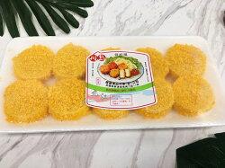 【九江水產】黃金酥脆干貝酥(10粒)---外酥內軟,一口咬下滿嘴鮮味---✦開幕慶滿1800元免運中~~~✦【附發票】