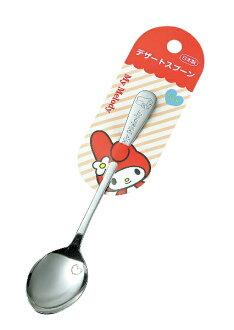 日本製 不鏽鋼餐具 My Melody 甜點匙 湯匙(大) *夏日微風*