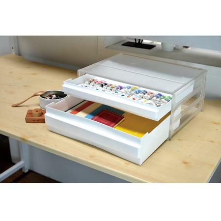 樹德 A4橫式資料櫃 DDH-111N 白櫃透明抽