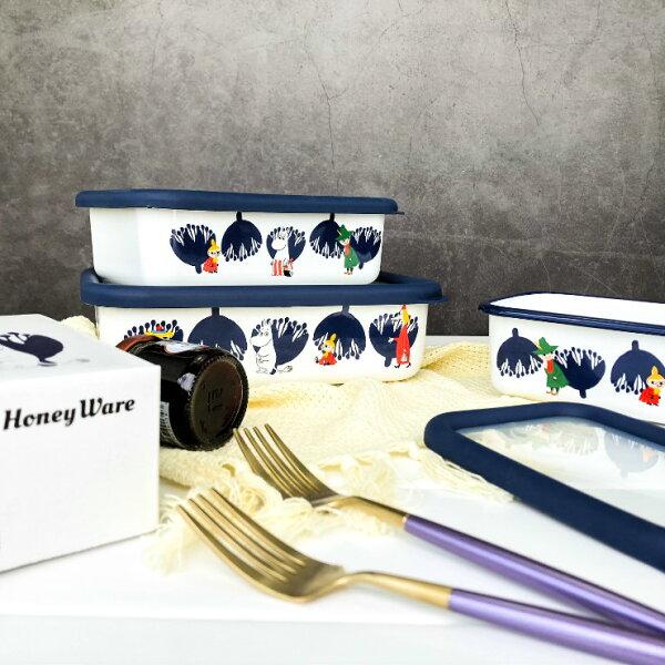 |現貨|獨家限量日本空運|MOOMIN嚕嚕咪琺瑯保鮮盒|3款|免運|姆明MOOMIN