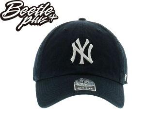 BEETLE 47 BRAND 老帽 紐約 洋基 NEW YORK YANKEES DAD HAT 大聯盟 MLB 深藍白 MN-367