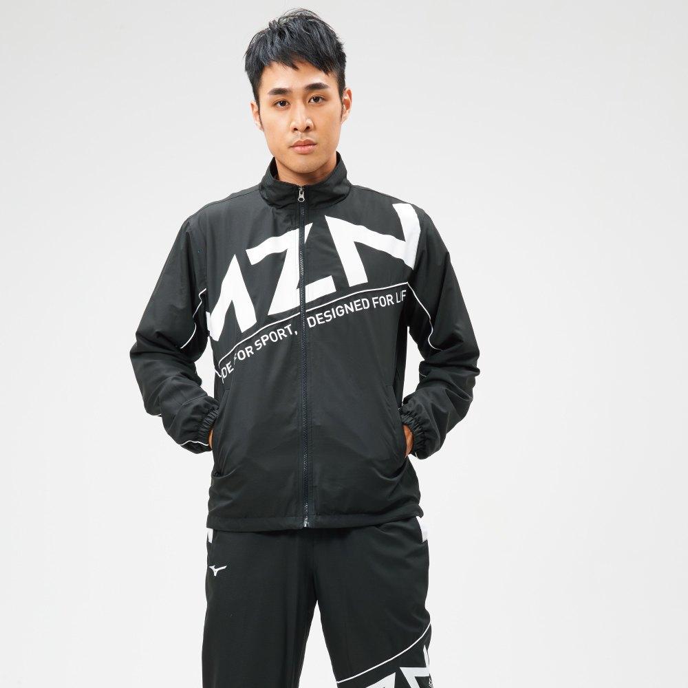 【領券最高折$300】MIZUNO 男裝 外套 立領 1906系列 套裝 休閒 平織 黑【運動世界】D2TC907109