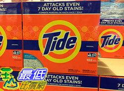 [COSCO代購] 促銷到3月22日 TIDE 汰漬 濃縮強效 洗衣粉 ULTRA POWDER DETERGENT 4.08公斤(KG) 102匙次(LOADS)_C43346