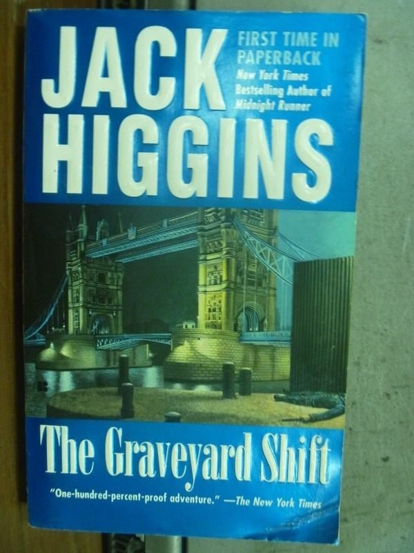 【書寶二手書T4/原文小說_HLS】The graveyard shift_Jack higgins