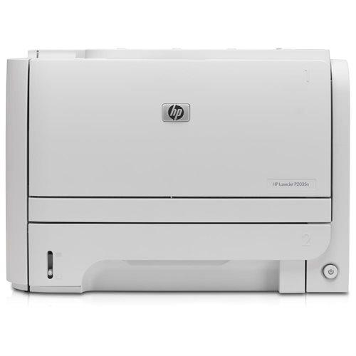 HP LaserJet P2035N Monochrome Laser Printer 0