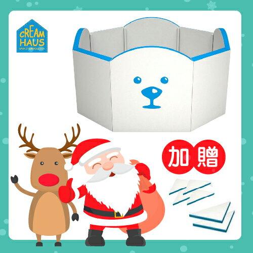 【送市價3960大小三角專用配件組】韓國【CreamHaus】冰雪高牆城堡-2色 0