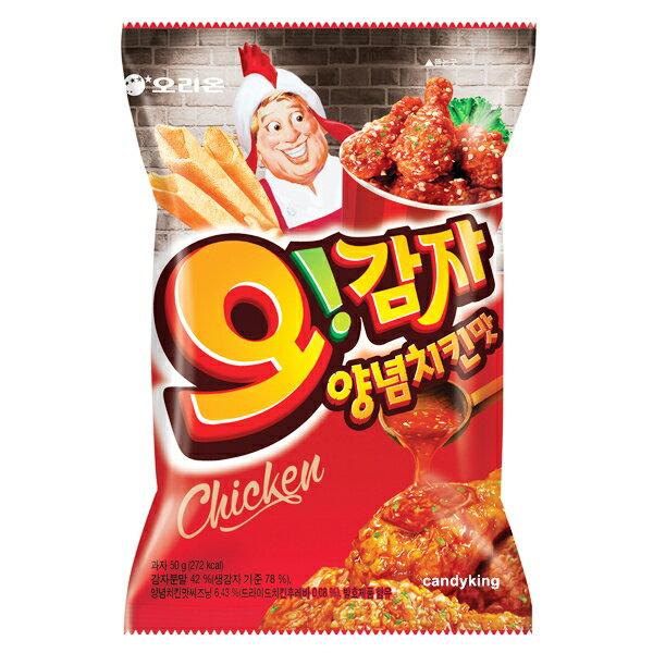 韓國 Orion 好麗友 辣雞薯條 50g 韓綜 RM 李光洙 最愛