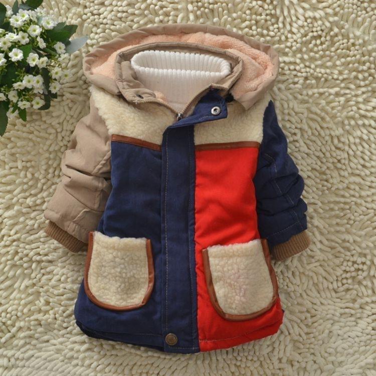熊仔兒童棉衣男童女童棉襖童裝加絨加厚小孩冬季外套寶寶冬裝