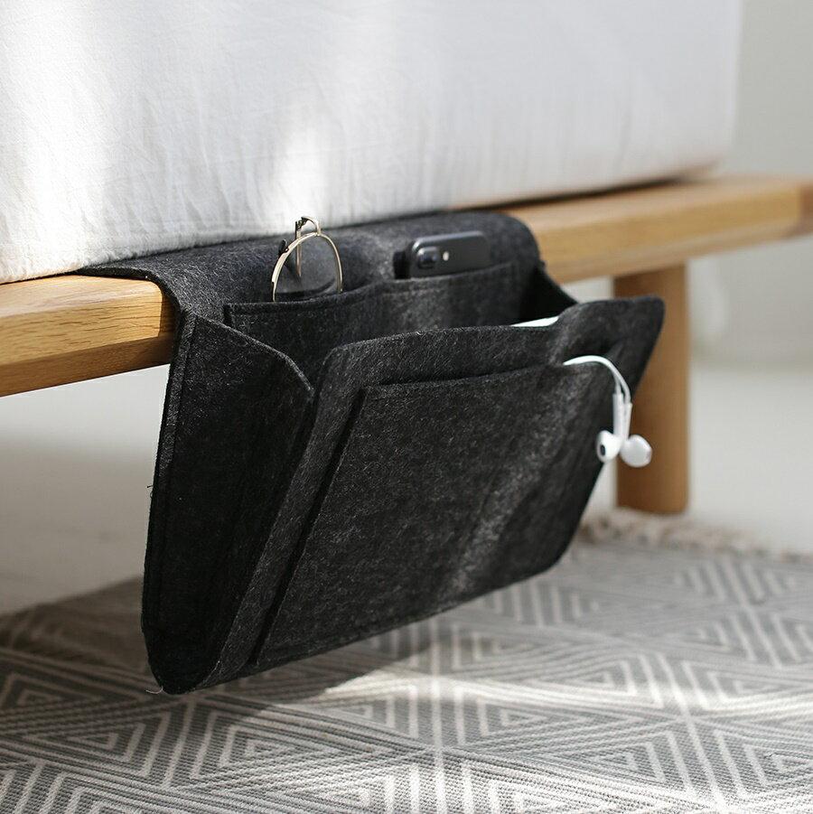 ~床邊收納袋 儲物袋 沙發收納袋 床掛袋 沙發掛袋 手機收納 筆電收納 遙控器收納